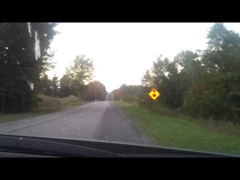 Car rolling upwards! Gravity hill, Michigan
