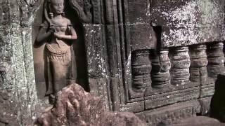 カンボジア アンコールワット遺跡 タソム遺跡の紹介