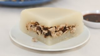 Easy Steamed Minced Meat Rice Cake (banh Gio)