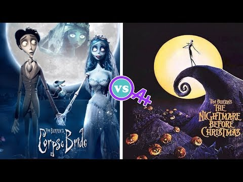Corpse Bride vs  Nightmare Before Christmas Review