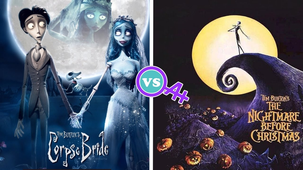 Corpse Bride vs Nightmare Before Christmas Review - YouTube