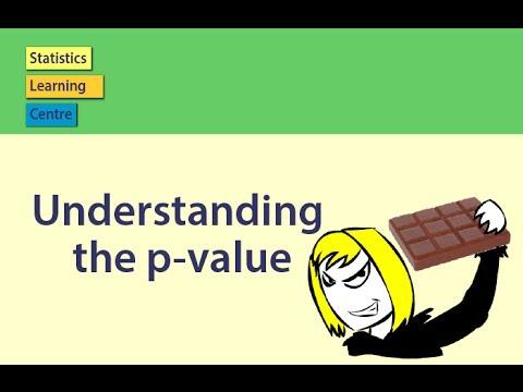 Understanding The P Value Statistics Help YouTube