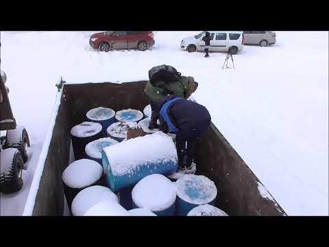 Взяты пробы из бочек с промотходами, нелегальный свал которых был пресечен в Нижегородской области