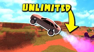 ROBLOX JAILBREAK UNLIMITED ROCKET FUEL GLITCH