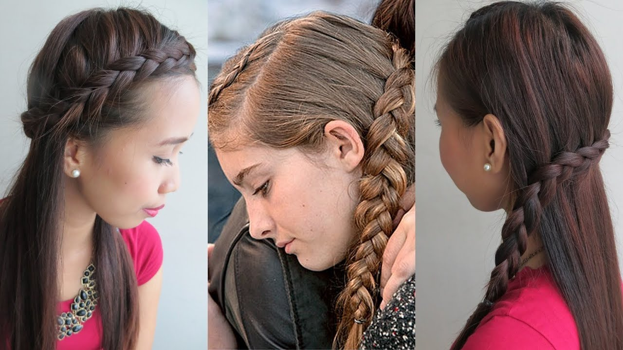 Our Favorite Hunger Games-Inspired Side Braids | InStyle.com