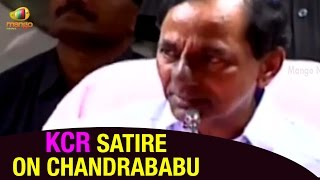 kcr about tribals