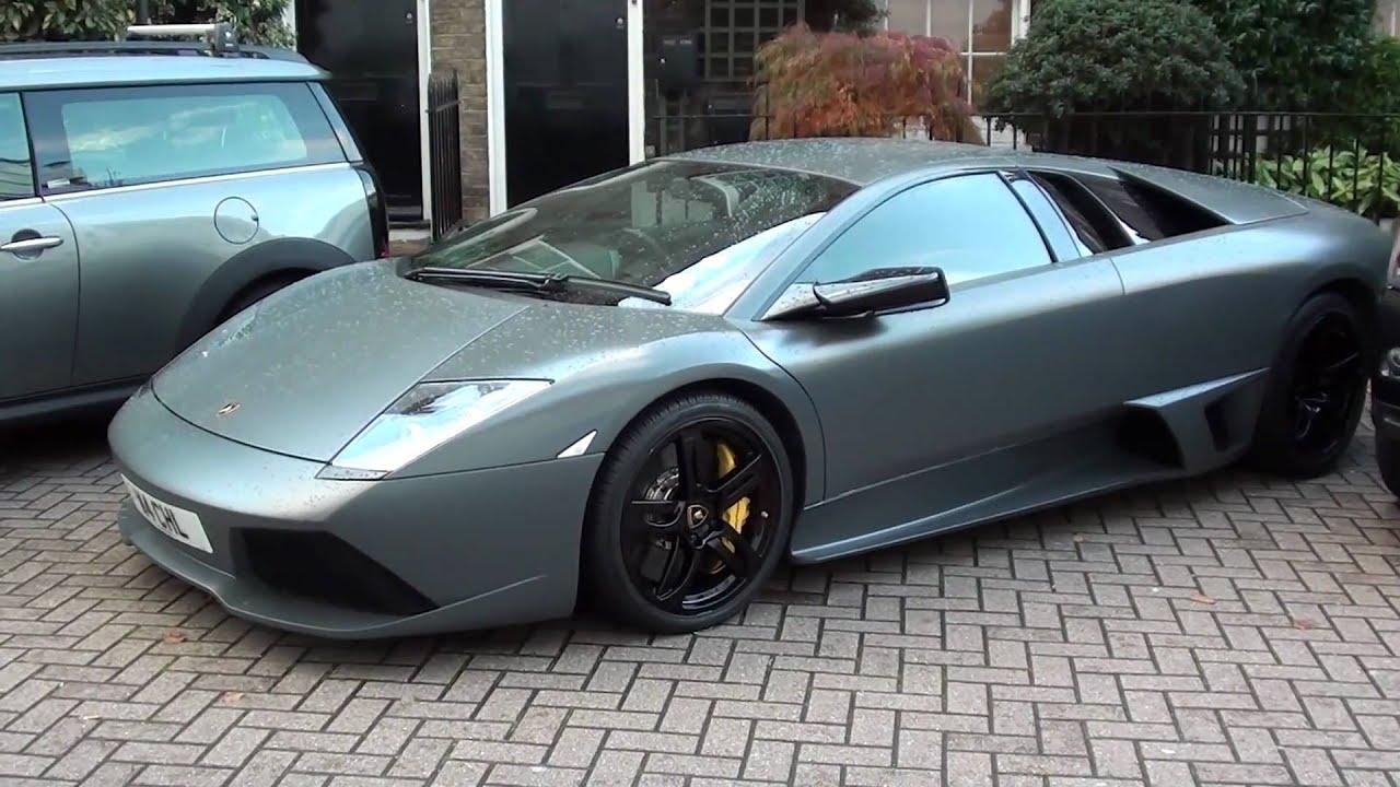 Lamborghini Murcielago Lp640 Matte Grey Youtube