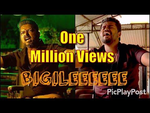 bigil-movie-raayappan-scene-recreation- -thalapathy-vijay- -bigil
