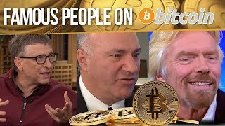 Top 1% Rich/Famous People Talking About Bitcoin Future - Best Video
