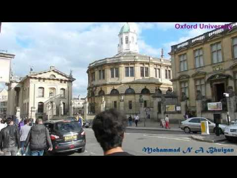 Tour de Oxford University