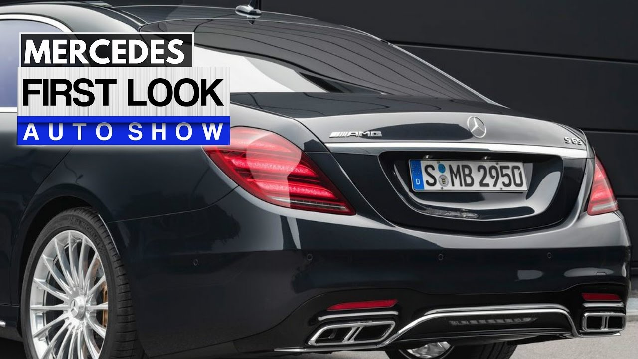 S63 2018 >> 2018 S65 AMG FIRST LOOK - YouTube