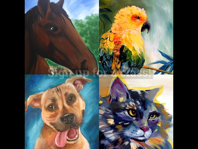 Paint Your Pet By Painting With A Twist Youtube