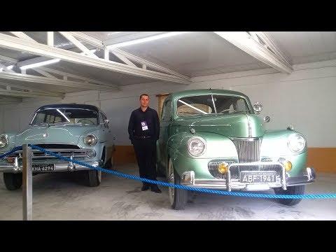 2017 MUSEU DE CURITIBA Chrysler Coupé De Luxe 1951, Plymouth Cranbroock 1952, Chevrolet Bel Air 1954