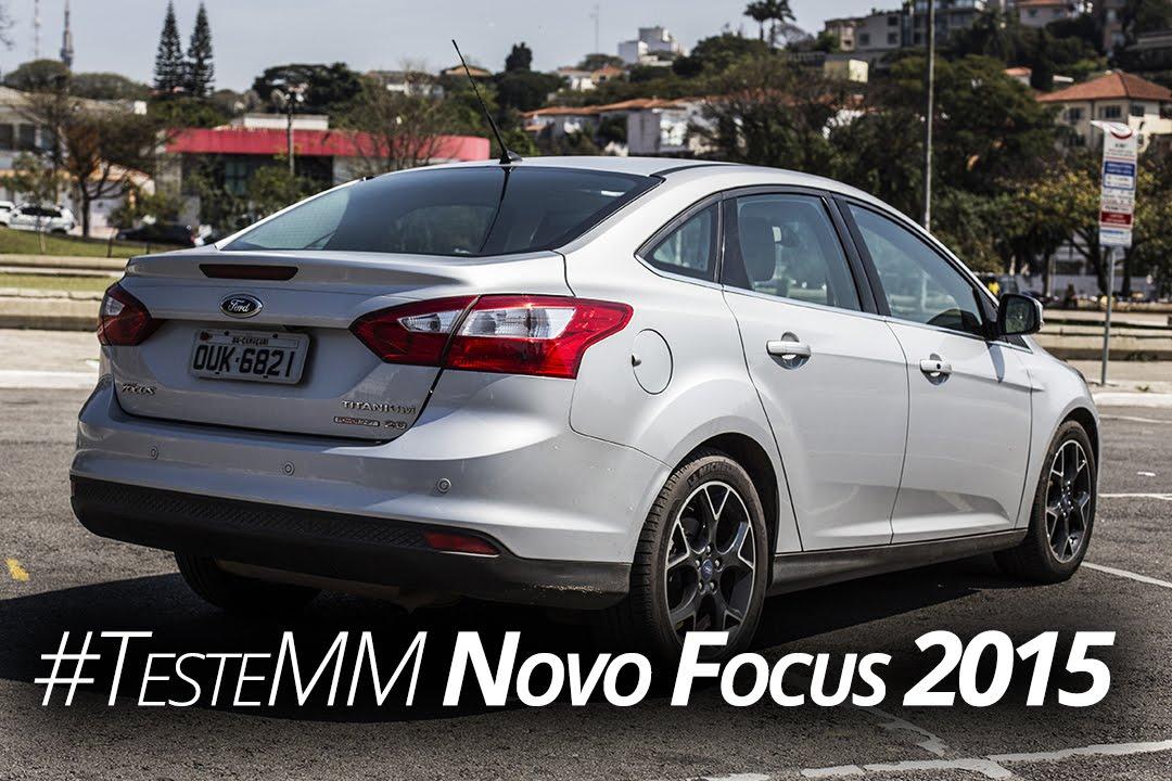 Macho Moda Tv  14 - Novo Focus Sedan 2015  Testamos