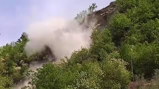 Esplosione massi sp 42