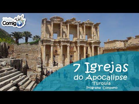 7 IGREJAS DO APOCALIPSE - TURQUIA   PROGRAMA VIAJE COMIGO