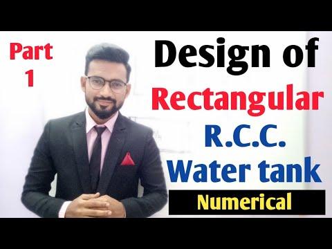 Design of RCC Water Tank (Part 1)