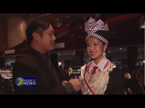 3HmoobTV - Kabyeej Jeff Wang caught up with Paj Nyiag Hawj, Miss Hmong MN 2012.