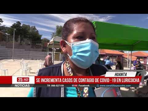 | HUANTA | En Louricocha se Incrementa Casos de Contagio del Covid-19