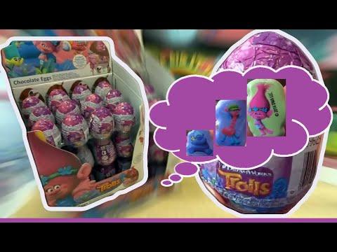 36 Troll Kinder Surprise Eggs Trolls Film Unboxig # 93