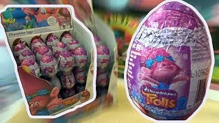 36 Trolls Kinder Surprise Eggs Trolls Movie unboxig