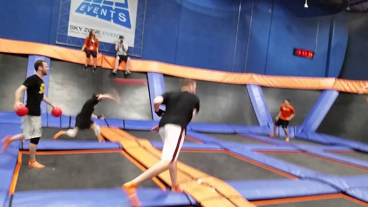 ultimate dodgeball championship  sky zone gotham dodgeball  youtube
