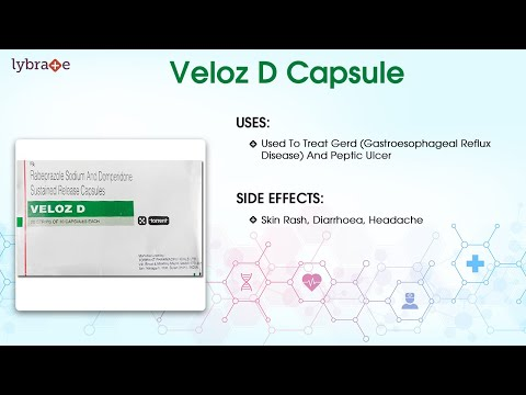 Veloz D Capsule: Uses, Side Effects, Dosage, Contradictions, Interactions | Lybrate