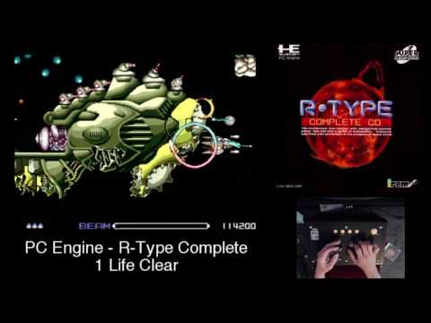 PC Engine - R Type COMPLETE CD - 1 Life Clear