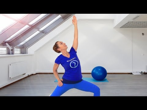 CORE AND STRETCH WORKOUT by WholyFit - The Class I Promised