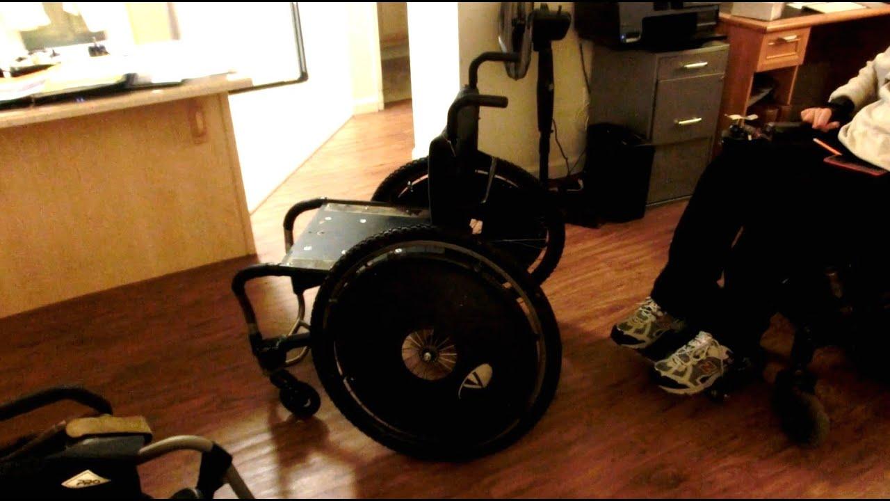 wheelchair genius desk chair heater diy lightweight lithium powered build part 3