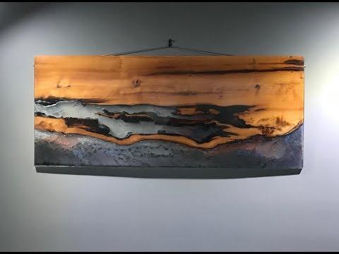 Epoxy Resin Art - Wall Hanging