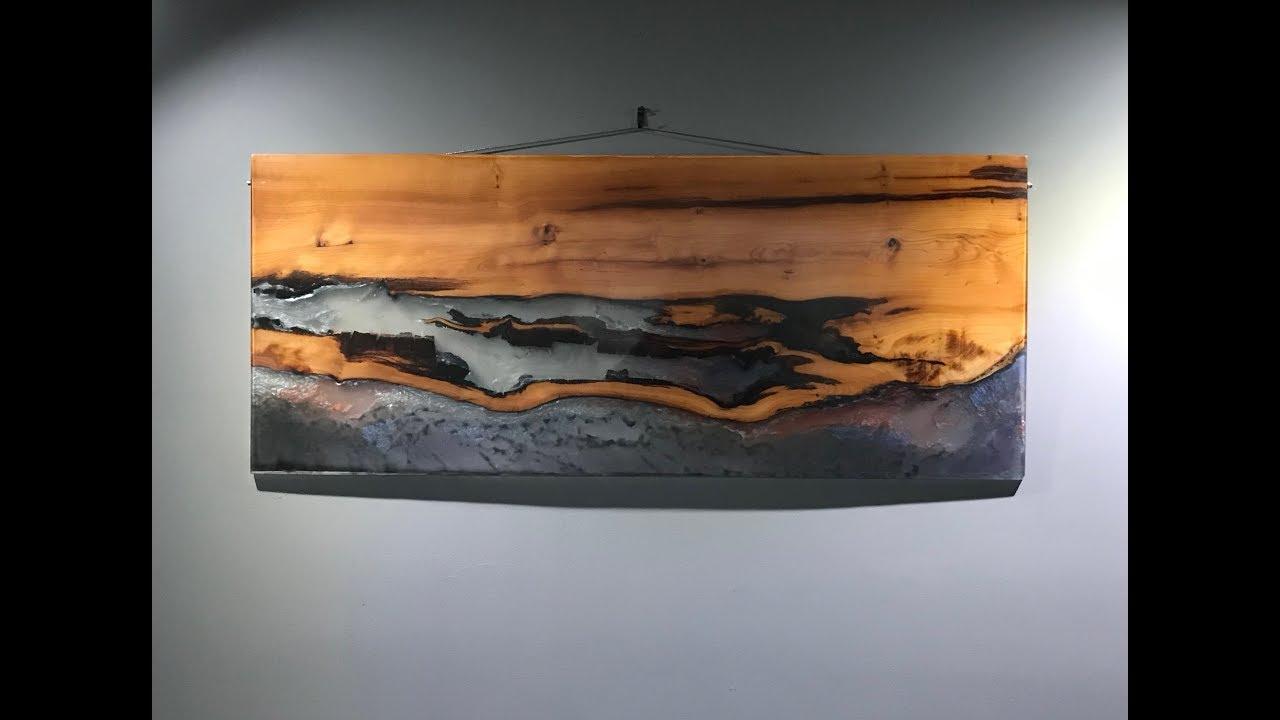 Epoxy Resin Art Wall Hanging