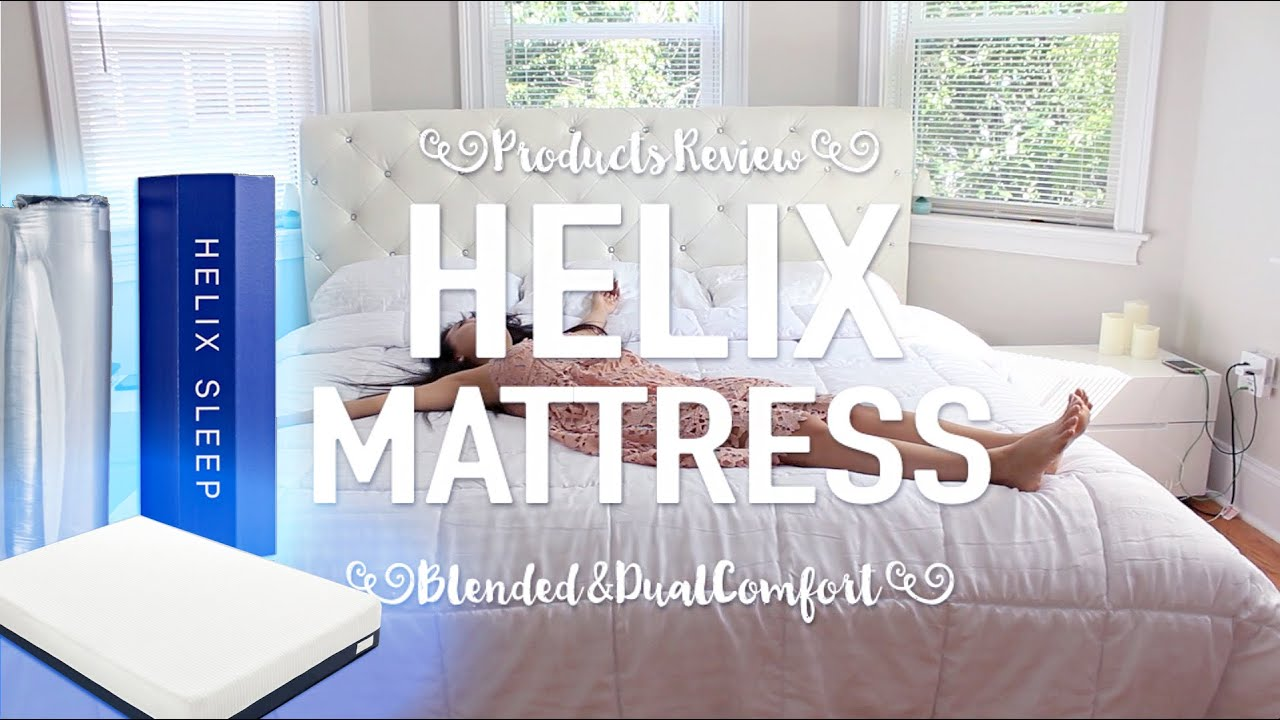 helix mattress review - youtube