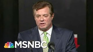Potential Bombshell In Paul Manafort Notes On Donald Trump Jr. Meeting | The Last Word | MSNBC 2017 Video