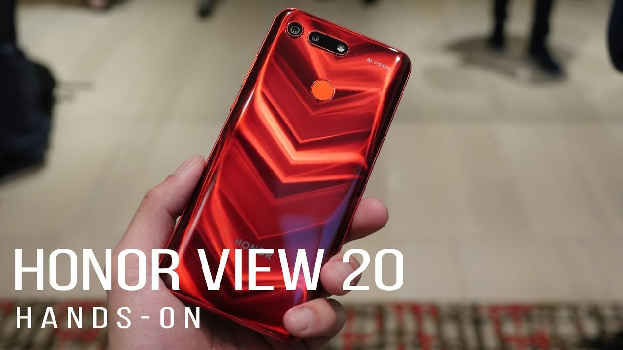Watch out OnePlus 6T, the Honor View 20 isn't messing around [hands