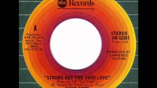 FOUR TOPS  Strung out for your love 70s Rare XO Soul