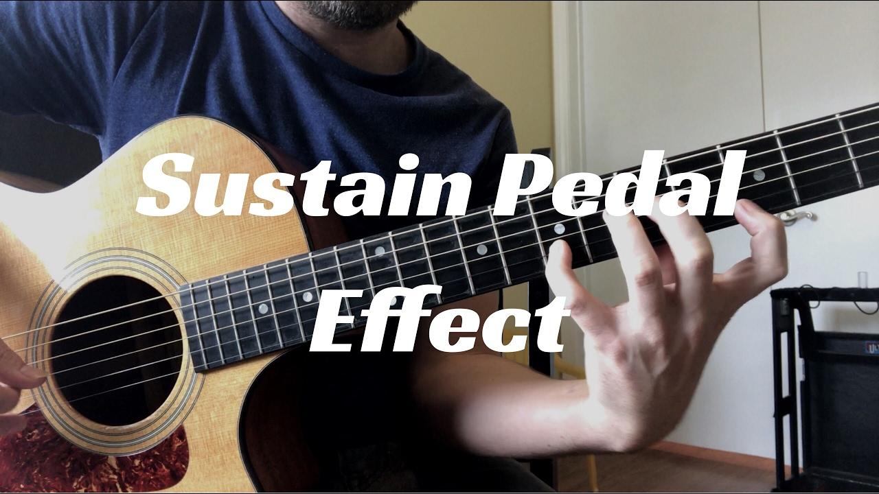 acoustic guitar sustain pedal effect youtube. Black Bedroom Furniture Sets. Home Design Ideas