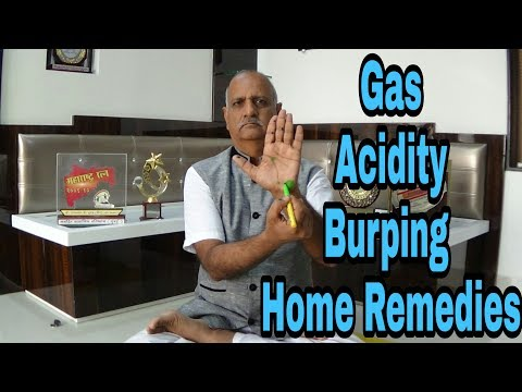 Gas Acidity Burp Burping | Home Remedies || Natural Solution || Advance Yoga By Parasmal Dugad