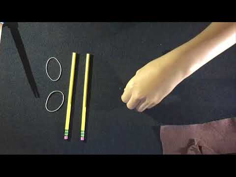 How to make a Slingshot From Household Items!