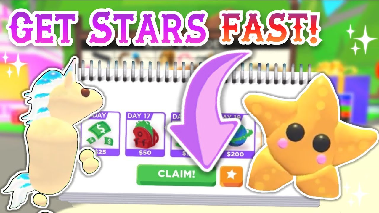 How To Get Unlimited Stars In Adopt Me Fast Adopt Me Tips Youtube