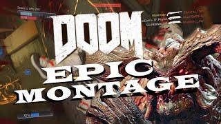 DOOM EPIC MONTAGE!!! (DOOM 4 BETA Gameplay)!