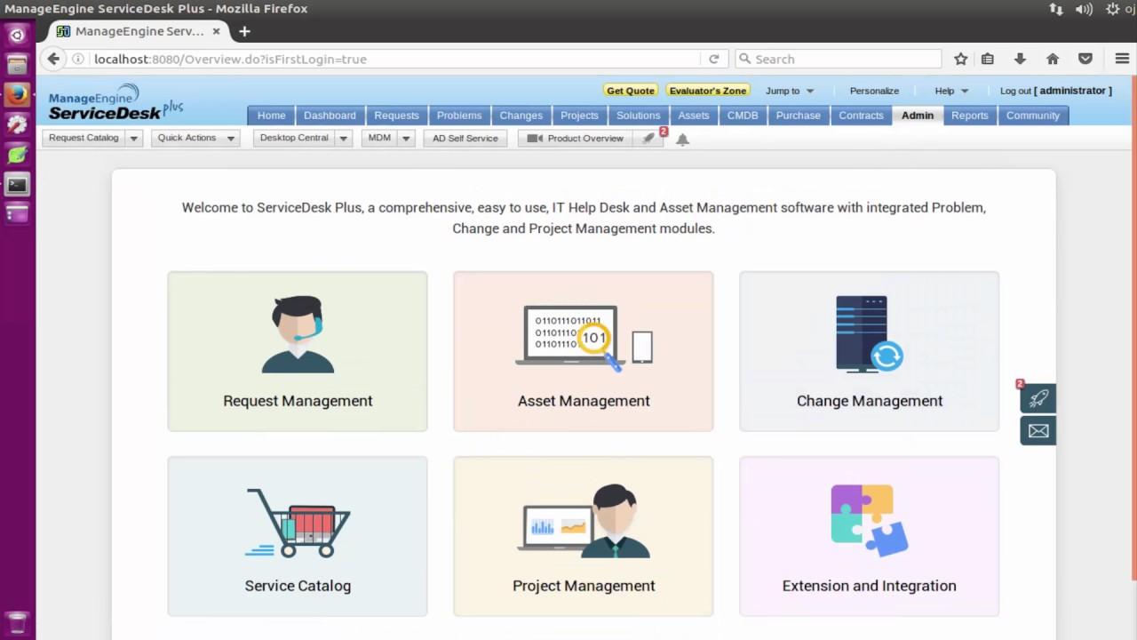 ManageEngine ServiceDesk Plus Configure on Ubuntu Server 16