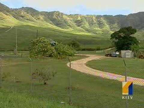 Native Hawaiians Protest Access Of Makua Valley