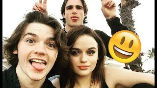 The Kissing Booth Cast - 😊😅😊 FUNNY AND HILARIOUS MOMENTS - TRY NOT TO LAUGH 2018 streaming