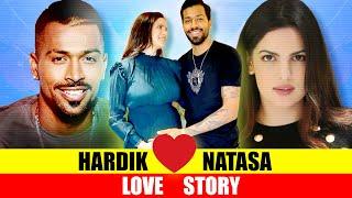 Hardik Pandya - Natasa Stankovic Love Story in Hindi   Who is Natasa - Hardik Pandya Engagement