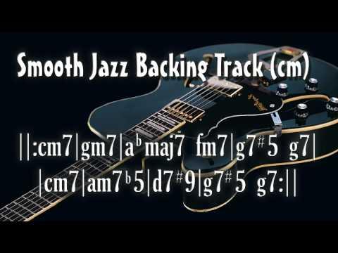 Smooth Jazz Backing Track (cm)
