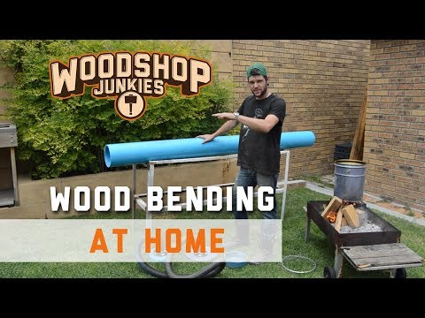 Simple DIY steam box for steam bending wood at home