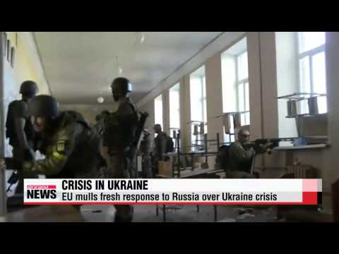 EU mulls fresh response to Russia over Ukraine crisis   우크라이나