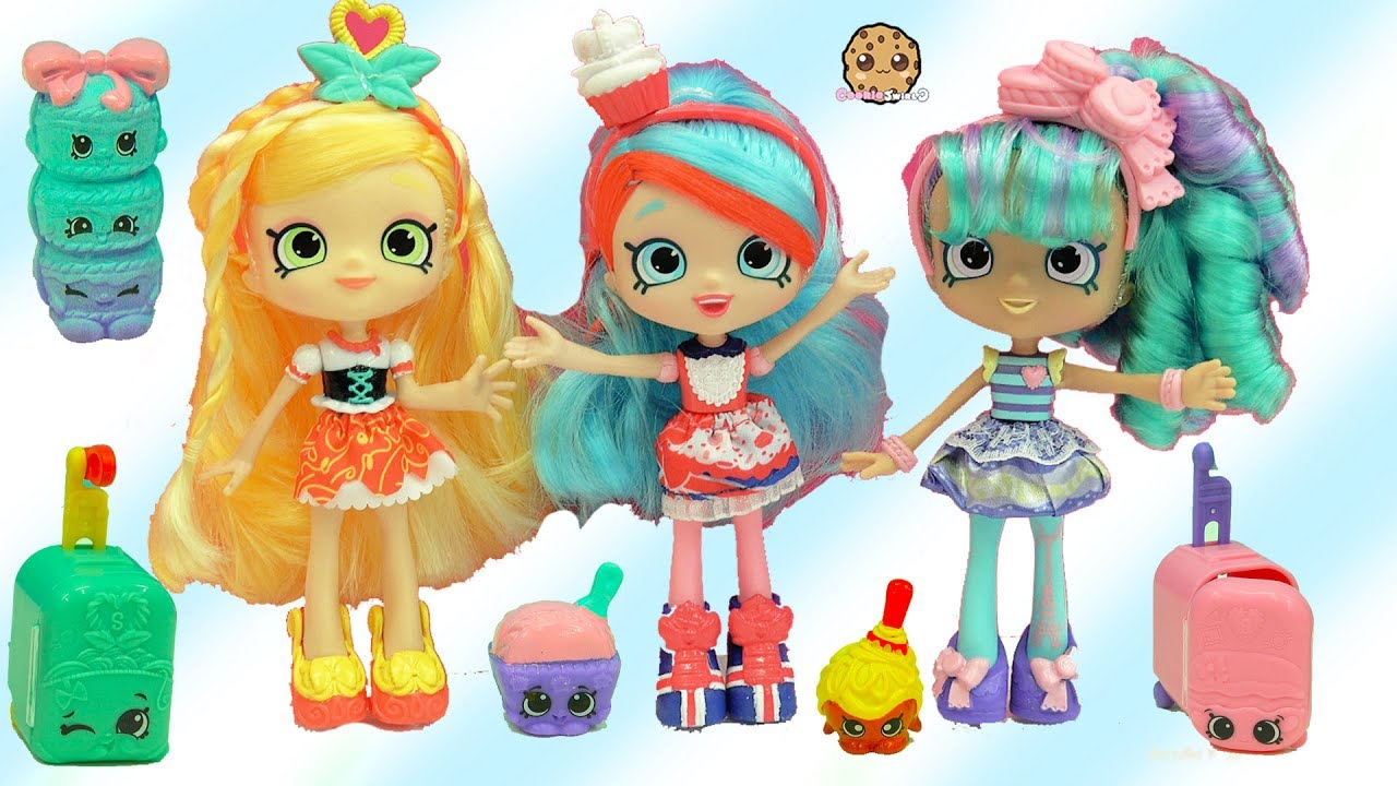 Season 8 World Vacation Shopkins Shoppies Dolls Spaghetti
