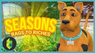 SCOOBY & RENOVATIONS - Part 8 - Rags to Riches (Sims 4 Seasons)